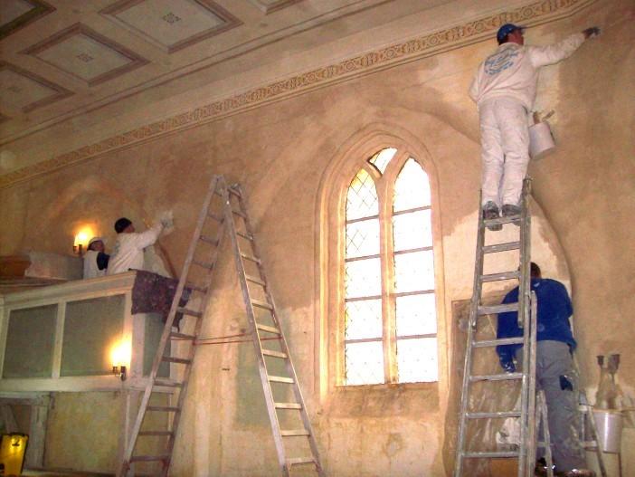 Restaurierung Innen
